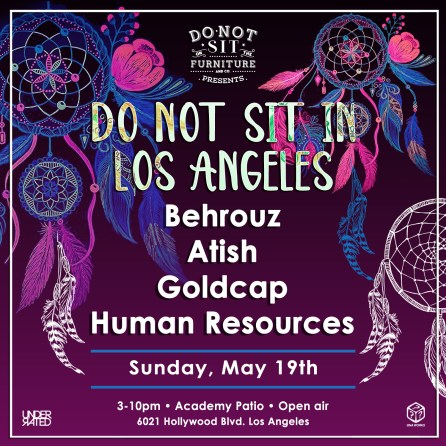 Do Not Sit in Los Angeles 2019