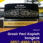 Agen & Distributor Peci Kopiah Songkok di Bondowoso Terlengkap