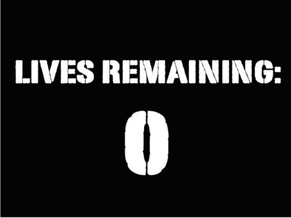 lives remaining
