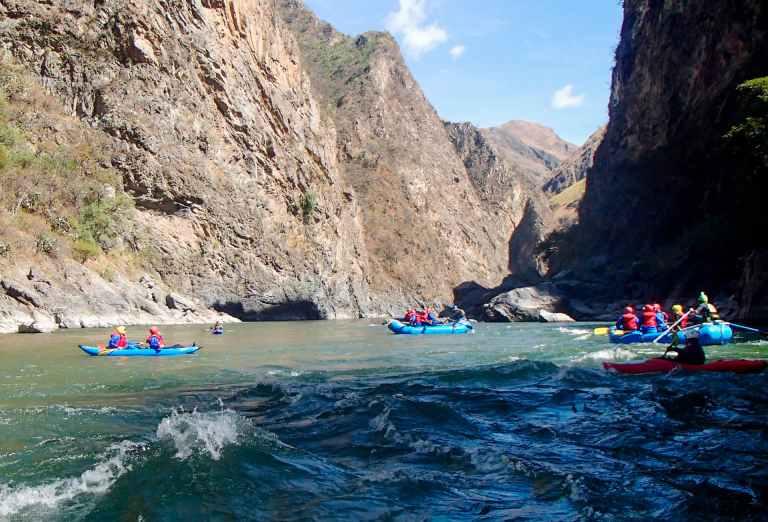 QosqoExpeditions - Rafting Apurimac River Black Canyon