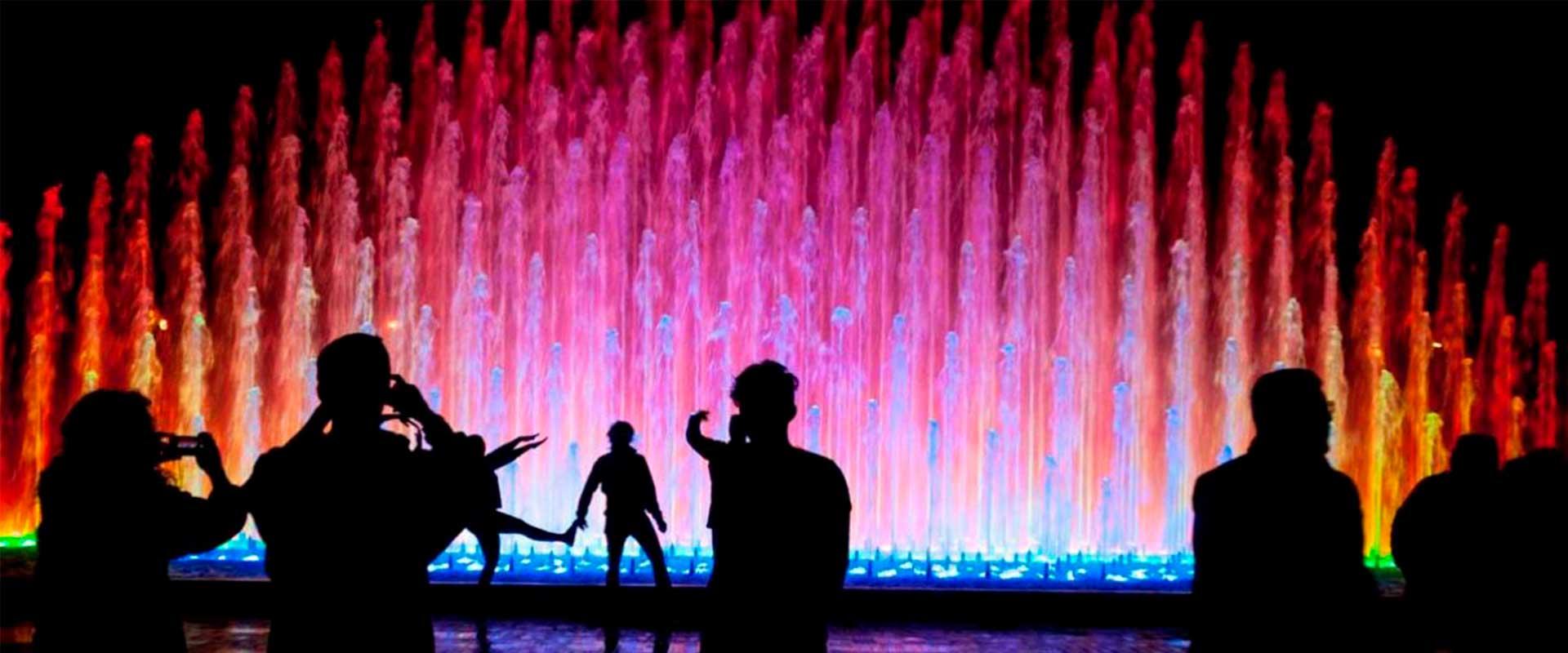 Lima Night Lights and Magic Water Circuit