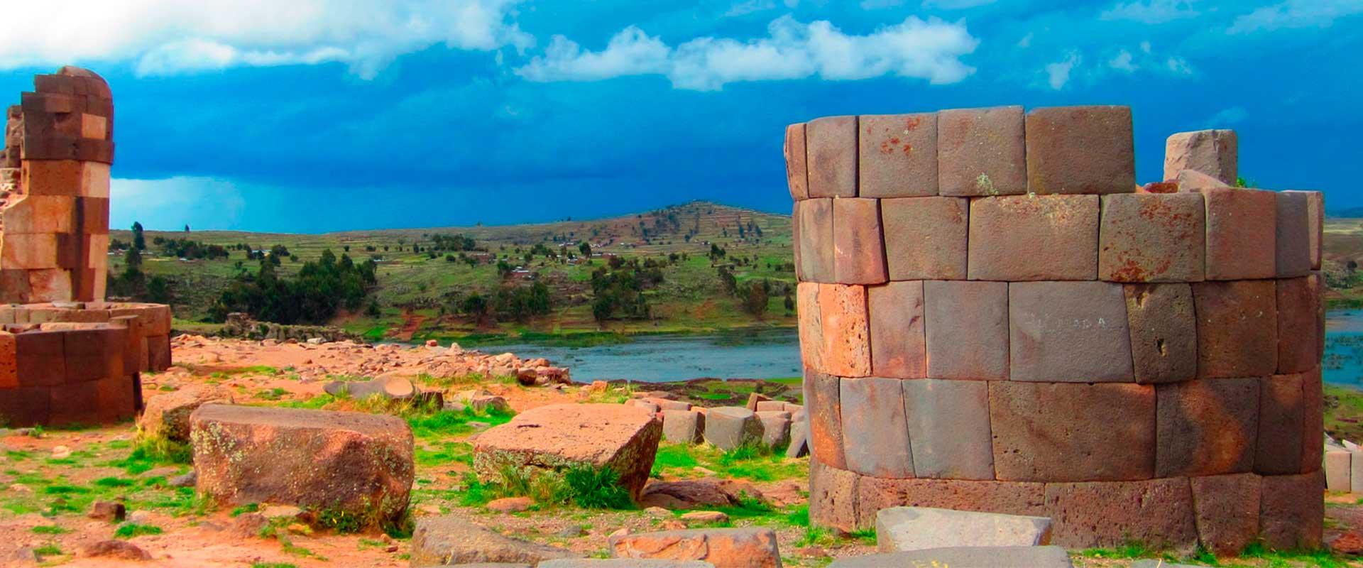 Sillustani Tombs Towers