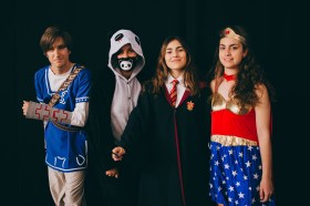 Hermione, Wonder Woman and Friends