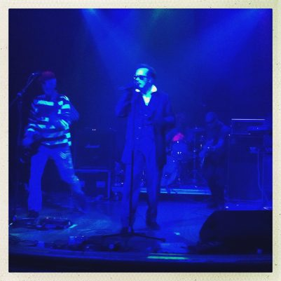 Dave Vanian to the fore! The Damned play Monkey Week 2013