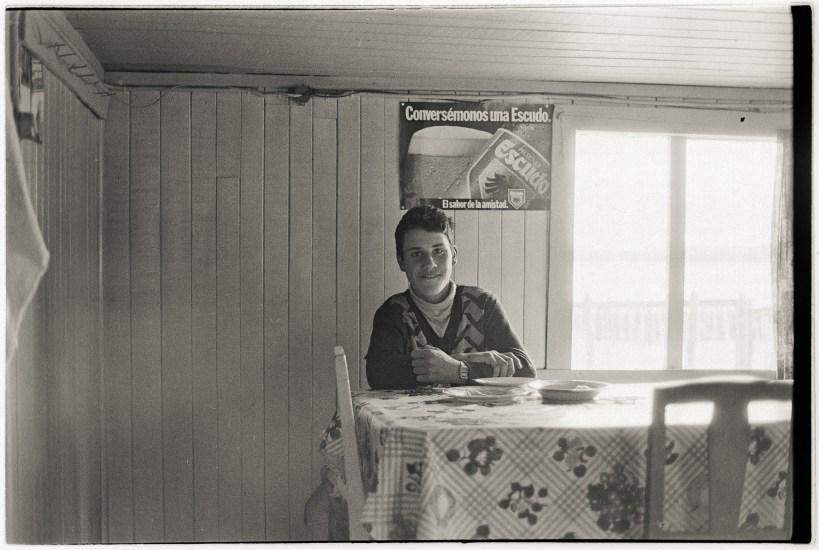 The Landlady's Grandson, Manao, Chiloé,1988.