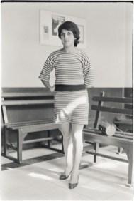 Chica en Sala de Espera, Santiago, Chile, 1988
