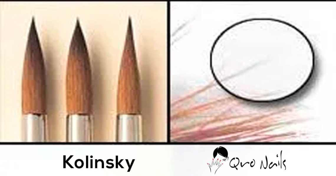 Qro Nails Kolinsky