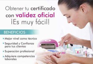 Certificacion Uñas