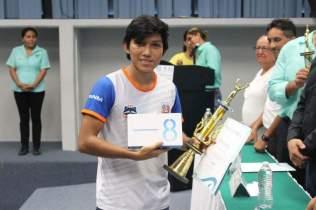 2.- Segundo lugar Jorge Fernando Cano
