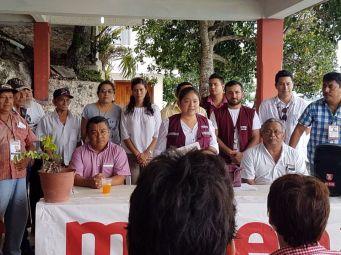 MORENA designa coordinadores municipales y territoriales en Bacalar 2