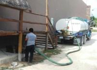Reparan planta de vacío del sistema sanitario en Mahahual 2