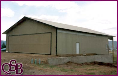 Topic Pole barn hangar plans   Build a shed Pole Barn Hangar Plans http   www qsbinc com airplane