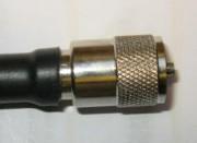 RG213 koaksiaalikaapelin juottaminen UHF-liittimeen