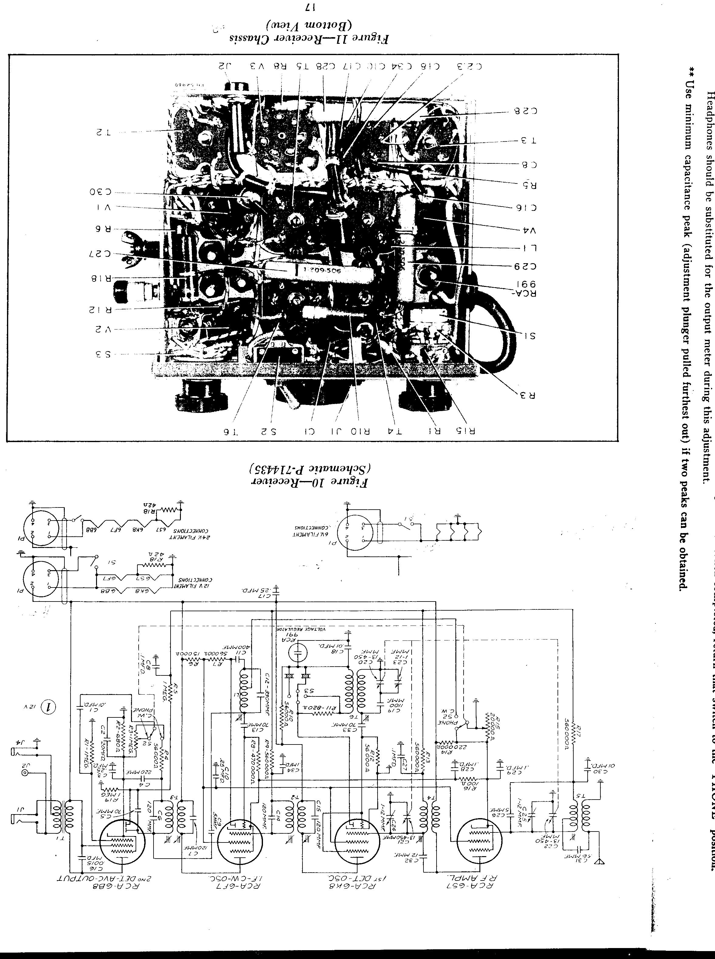 Aircraft Receiver Schematics