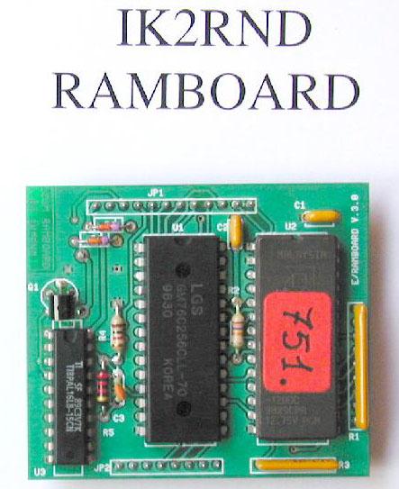 Roberto Nardo IK2RNDs Replacement ICOM RAM Board For ICOM Amateur Radios