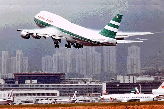 Vlucht vanuit Hong Kong naar Schiphol met Cathay Pacific