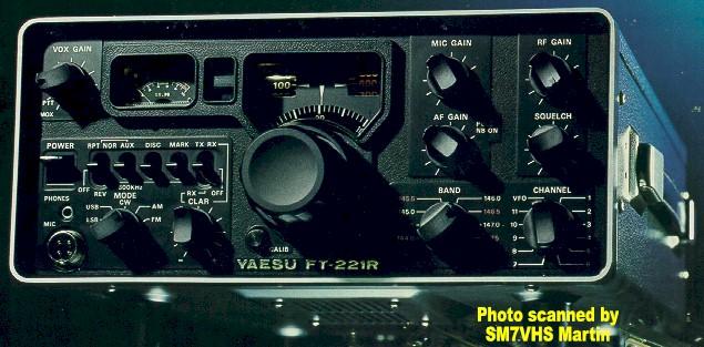 Yaesu Ft 221r