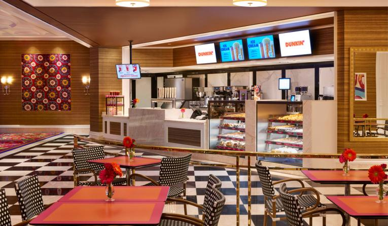 Dunkin Opens At Encore Boston Harbor Resort Amp Casino