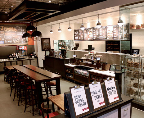 Communal Fast Food Tables Invite Personable Dining