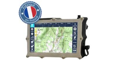 Un GPS tout-terrain étanche Made in France