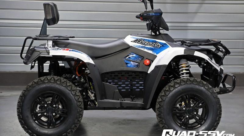 Hytrack lance un quad électrique !
