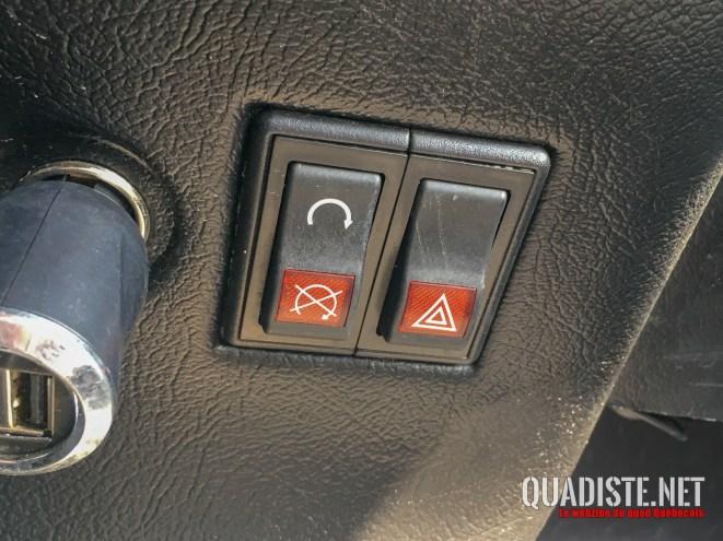 Interrupteurs comme les Renault 5 d'antan!