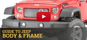 Jeep Body & Frame | Quadratec  Free Shipping
