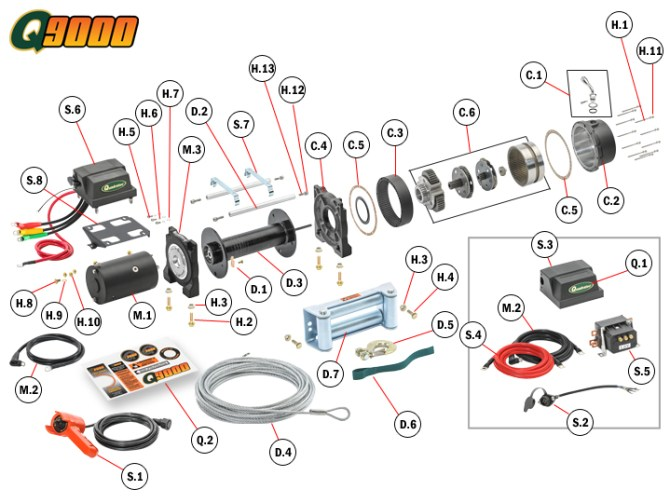 🏆 diagram in pictures database warn winch wiring diagram