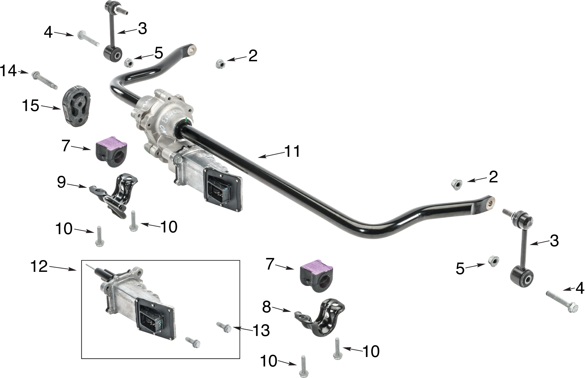 Jeep Wrangler Jk Front Stabilizer Bar Parts