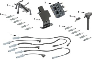 Jeep Wrangler JK Electrical Ignition Parts | Quadratec