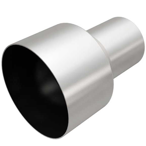 magnaflow performance 3 to 5 exhaust tip adapter in stainless steel
