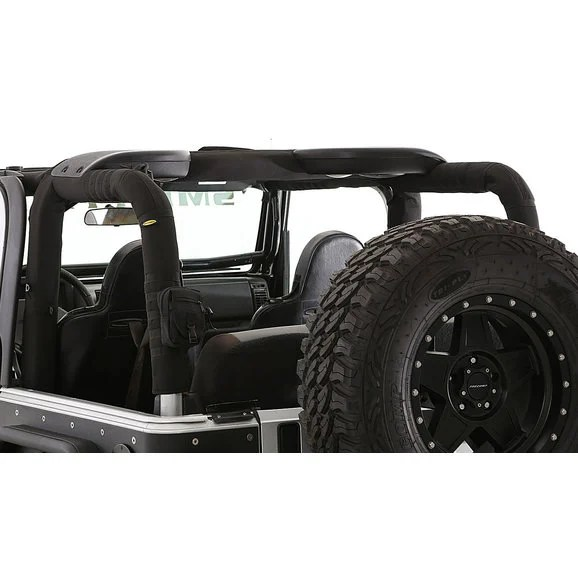 Smittybilt 5665101 Roll Bar Padding Cover Kit With Molle