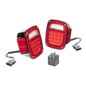Quadratec LED Tail Light Kit for 1997 Jeep Wrangler TJ