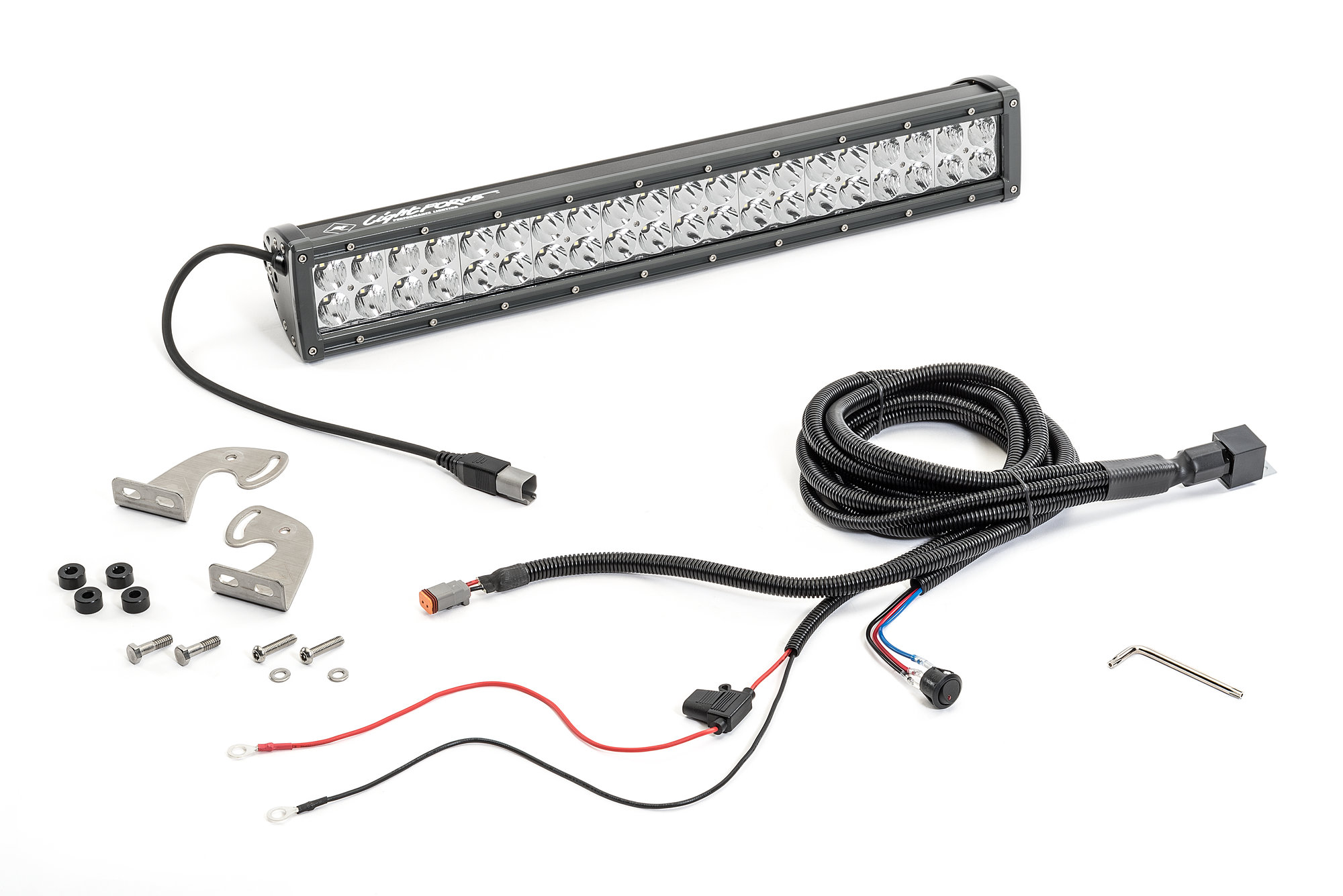 Lightforce Le012 Dual Row 20 Led Bar