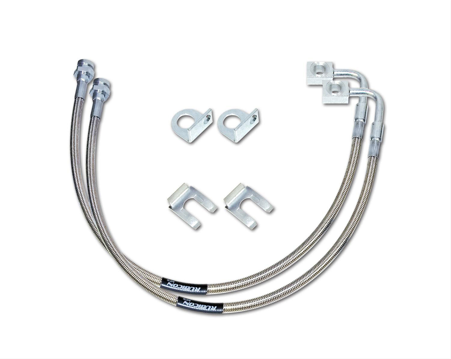 Rubicon Express Re Front Braided Stainless Steel