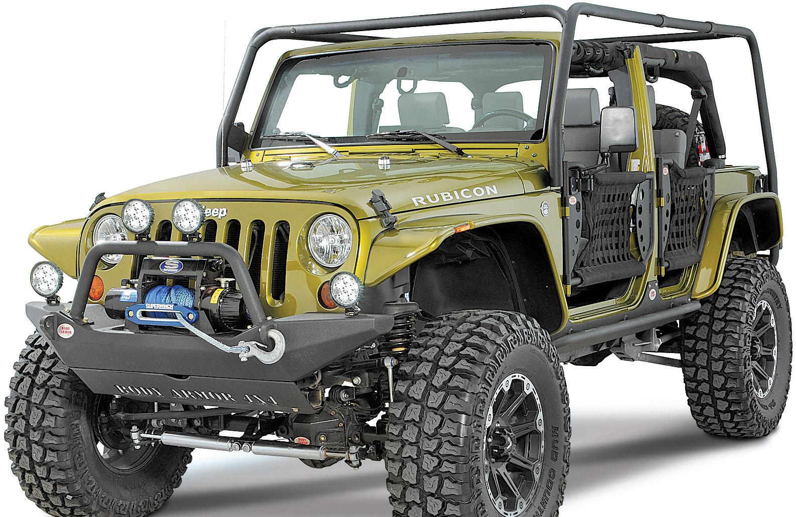 body armor jk 6125 4x4 roof rack base kit for 07 18 jeep wrangler jk 2 door
