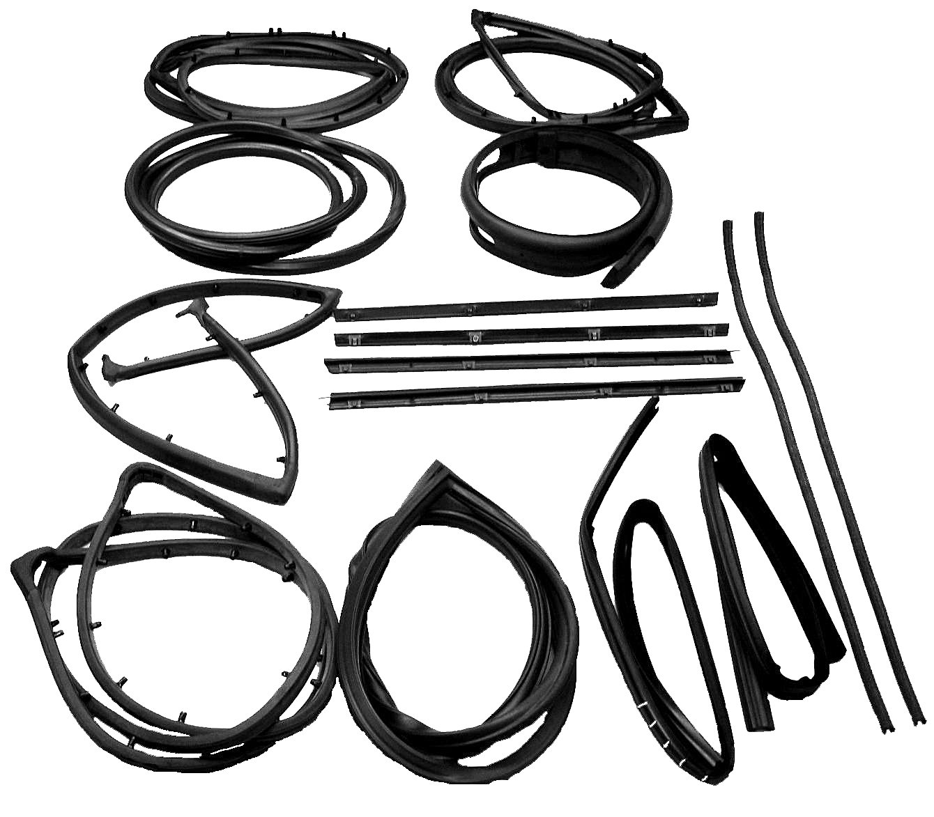 Fairchild Industries Kd 15 Piece Seal Kit For 76 86