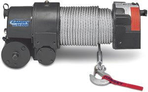 Ramsey 112162 RE 12000 Winch with 12 ft Wire Pendant