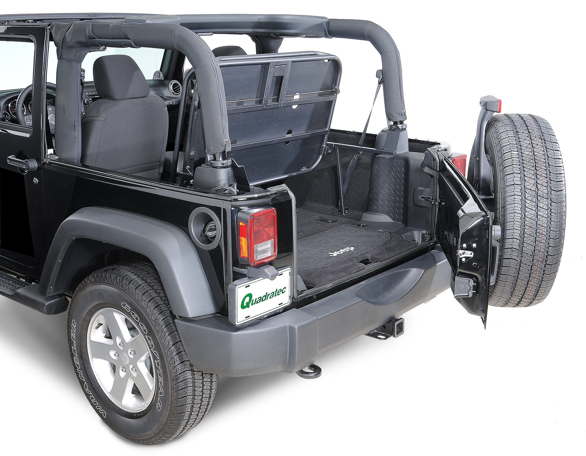 rampage products rear interior sport rack