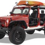Warrior Products 871 Safari Canoe Rack For 97 06 Jeep Wrangler Tj Unlimited Quadratec