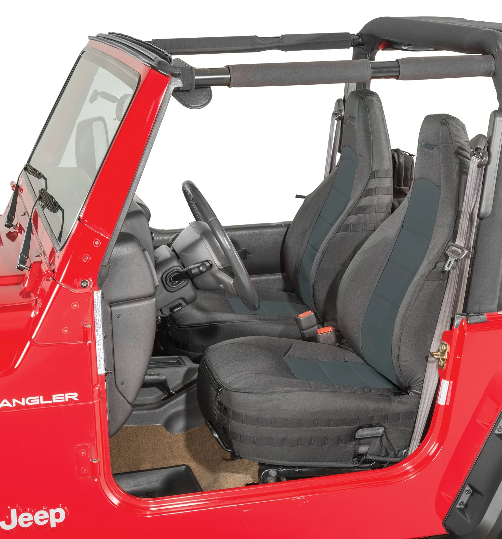 Bartact Mil Spec Super Front Seat Covers For 97 02 Jeep
