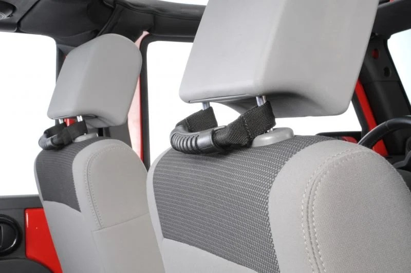 Rugged Ridge Rear Seat Grab Handles For 07 19 Jeep