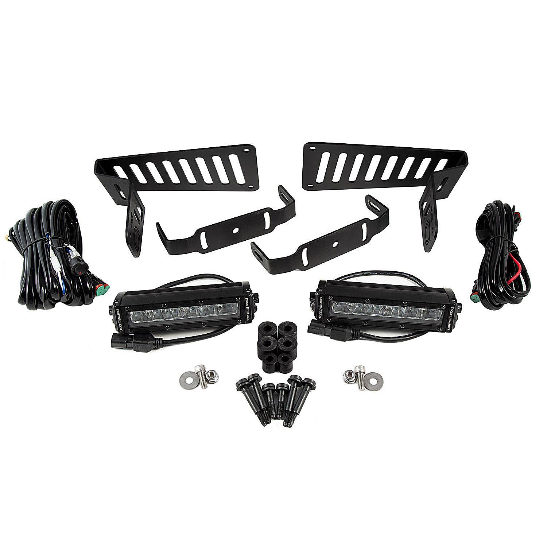 Diode Dynamics Cowl Mounted Led Light Bar Kit For 18 19