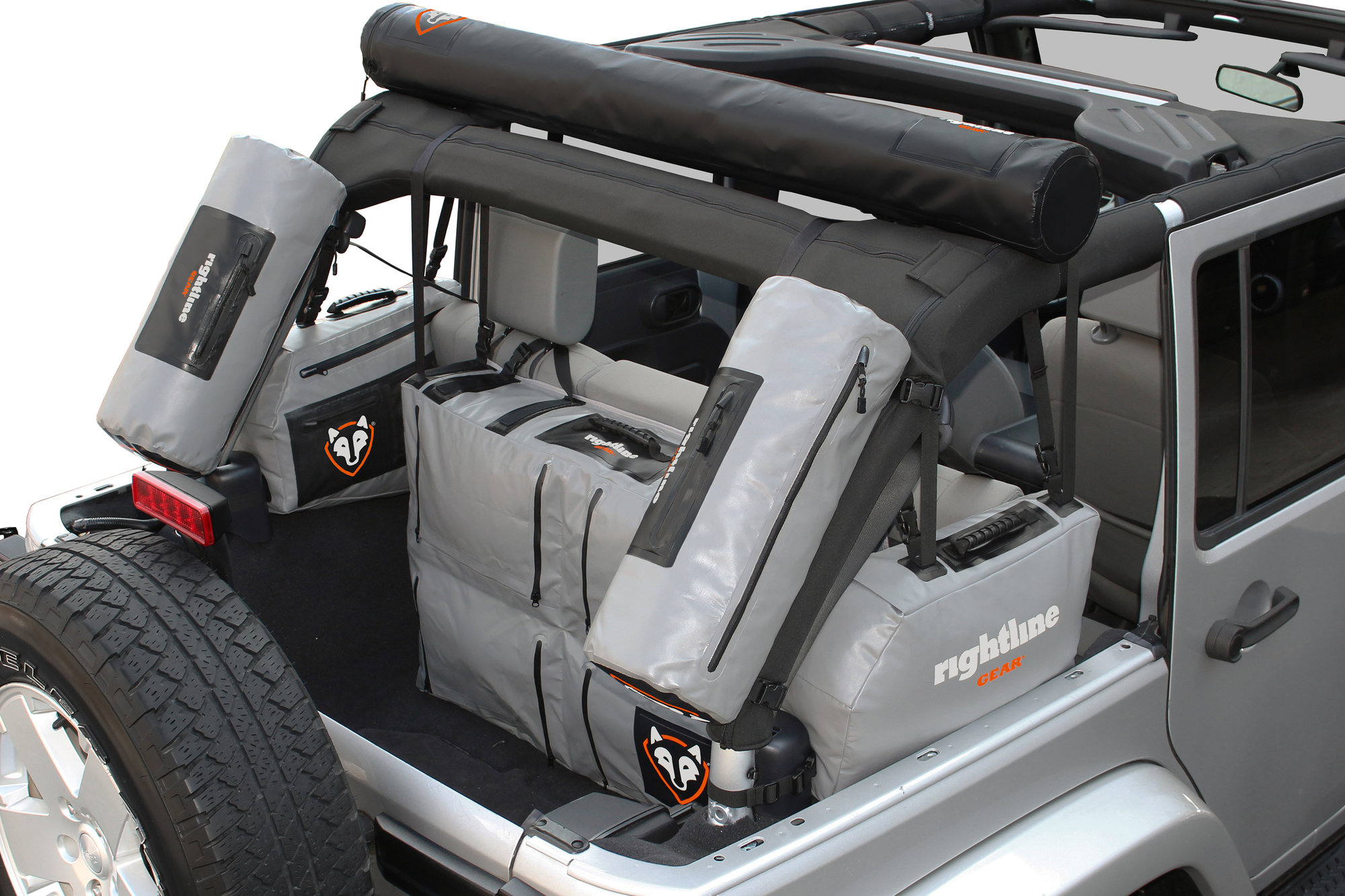 Rightline Gear 4x4 Side Storage Bags For 07 18 Jeep