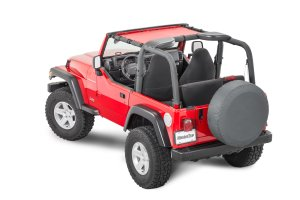 MasterTop ShadeMaker Mesh Bimini Top for 9706 Jeep