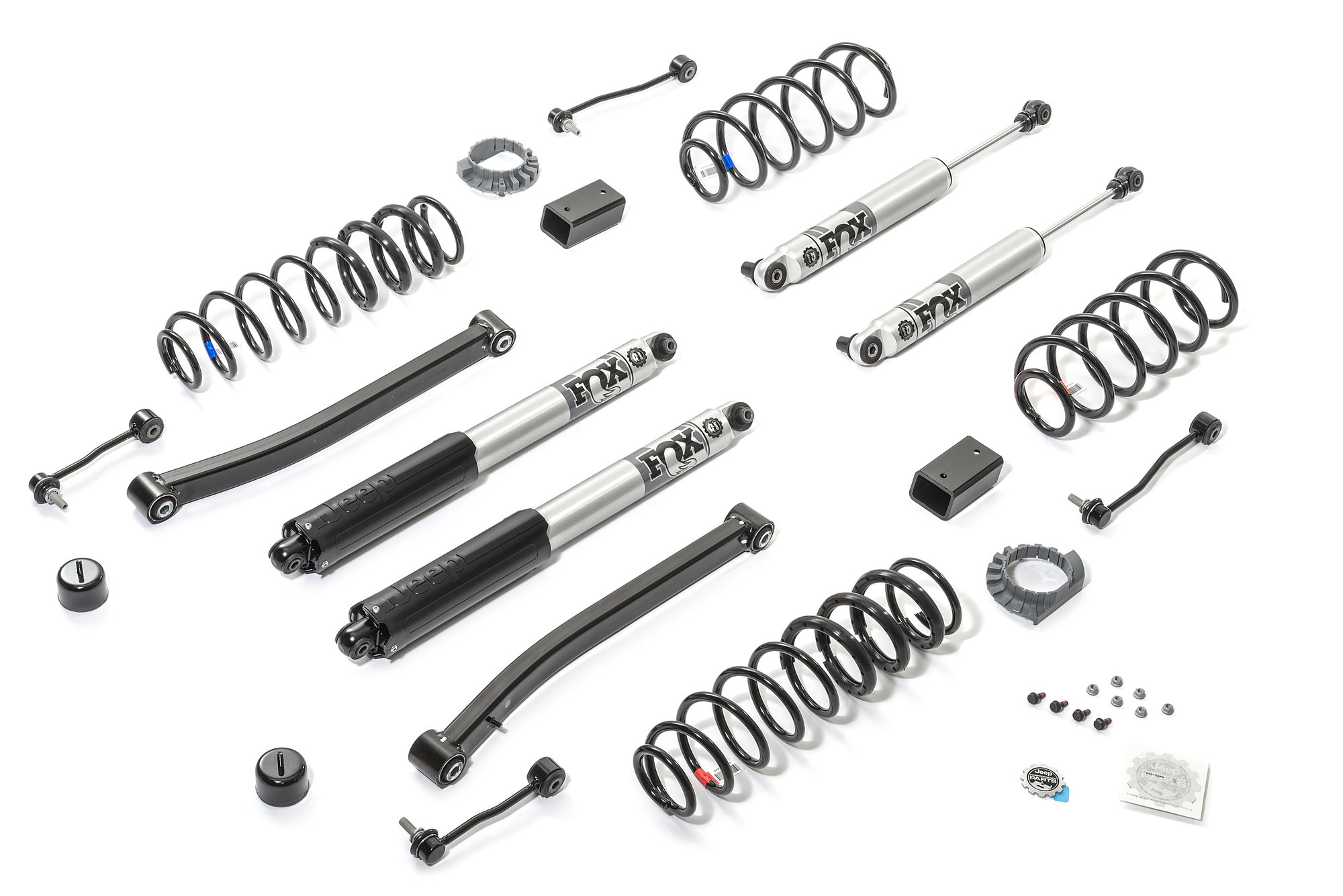 Mopar 2 Lift Kit With Fox Series Shocks For Jeep