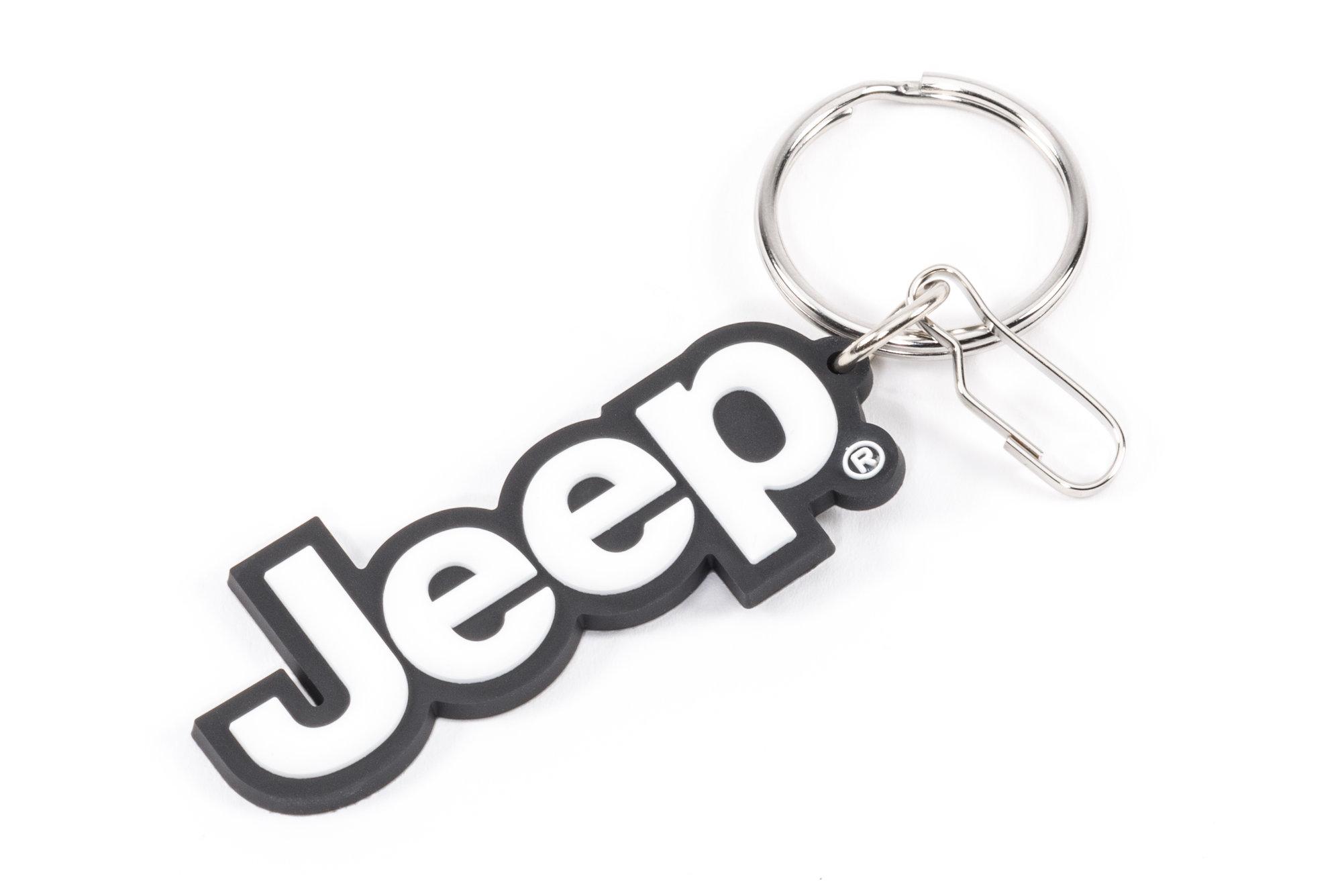 Plasticolor R01 Jeep Logo Pvc Keychain
