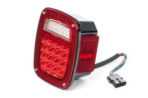 Quadratec LED Tail Light Kit for 9195 Jeep Wrangler YJ