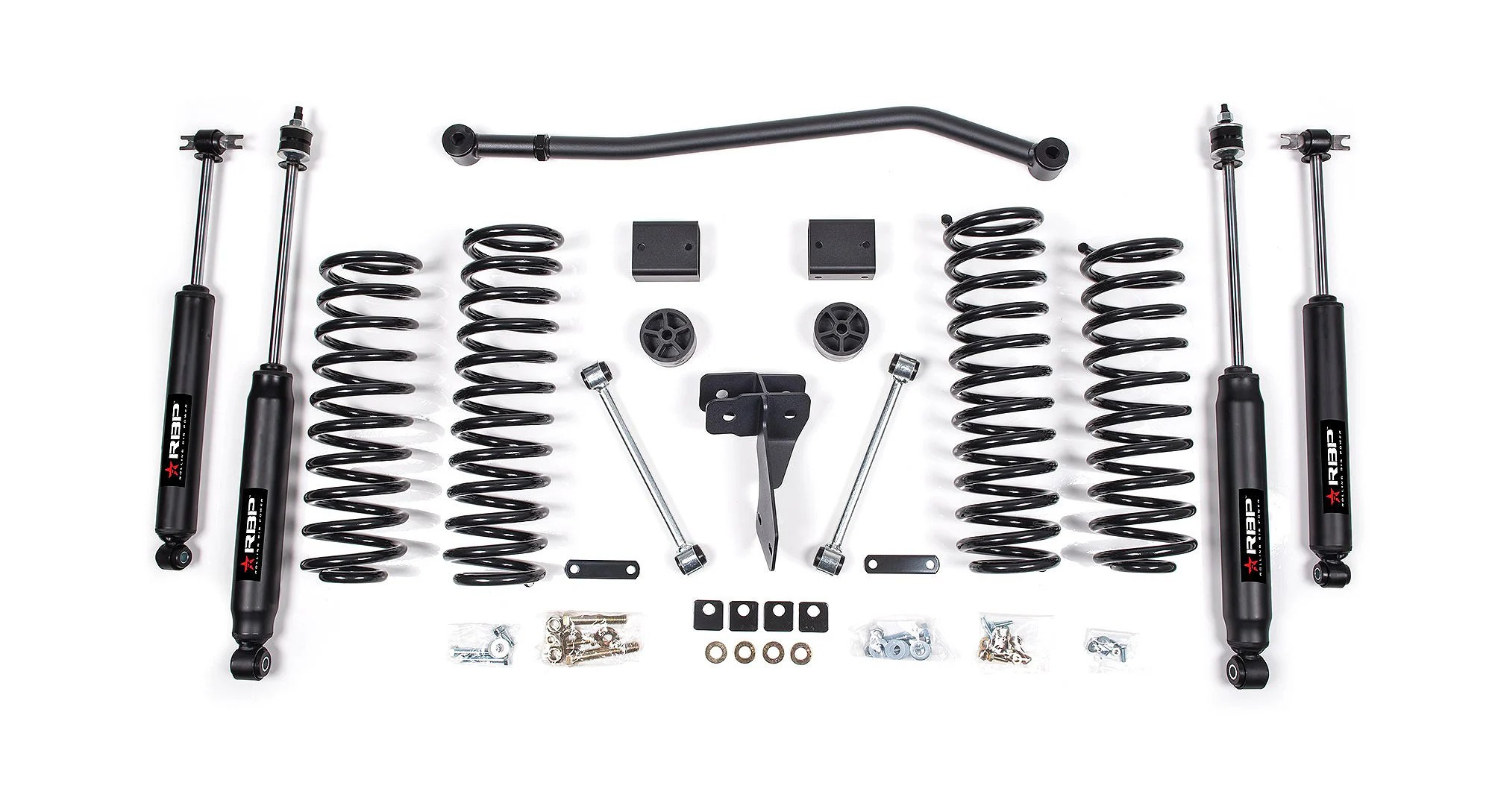 Rolling Big Power 4 Suspension Lift Kit System For 07 18