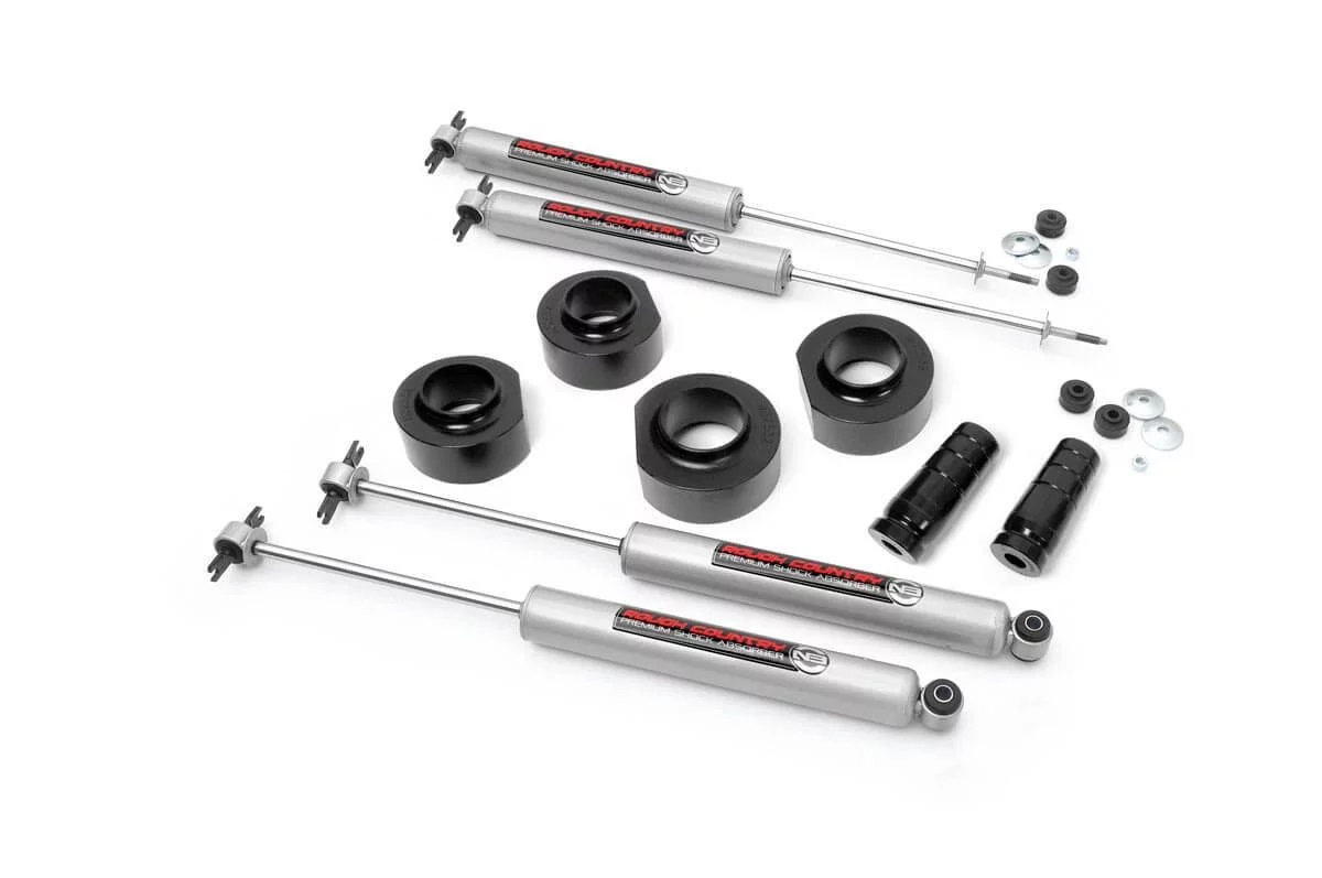 Rough Country 1 5in Spacer Lift Kit For 93 98 Jeep